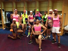 Too funny!  I love Gattis...he can't pull off feminine at all!  ;)