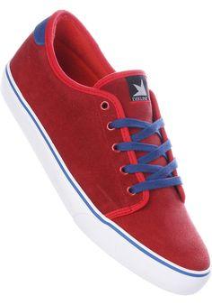 Dekline Santa-Fe, Shoe-Men, red-true-blue #ShoeMen #MenClothing #titus #titusskateshop