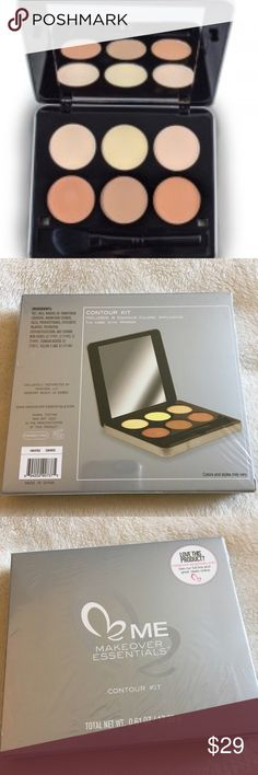 CONTOURING KIT - BRAND NEW Dive into the Makeover Essentials Contour Kit and begin your journey in creating the illusions of higher cheekbones, a slimmer nose, softer jawline or smaller forehead. The sky is the limit with the Contour Kit. This kit has everything you need to bronze and highlight individuals parts of anyone's face. Reasonable offers considered but no lowballing please. Bundle 2+ Items for additional savings and to pay just one shipping charge. No TRADES Makeup