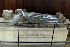 Rollo, First Duke of Normandy, Rouen Cathedral, c. 932. This tomb is a faithful copy of a thirteenth-century original that was destroyed during WWII http://professor-moriarty.com/info/section/church-monument-art/13th-century-church-monuments-rollo-duke-normandy-rouen-cathedral