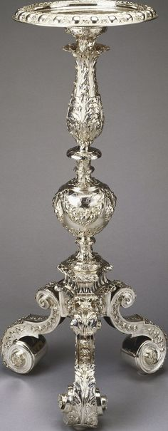 The Royal Collection: Silver stand