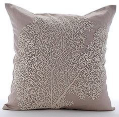Mocha Decorative Pillow Cover, Beaded Shrub Sea Creatures... https://www.amazon.com/dp/B016H8U0KS/ref=cm_sw_r_pi_dp_x_tdnaybQ63XMFP