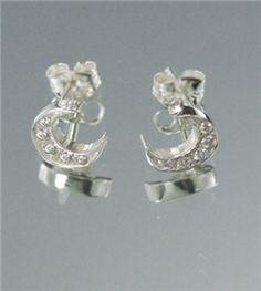 Delta Shop - Crescent Earrings
