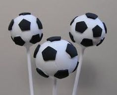 soccer cake pops - Google Search