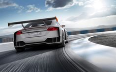 Herunterladen hintergrundbild audi tt clubsport turbo, 2017 autos, supercars, raceway, audi tt, deutsche autos, audi