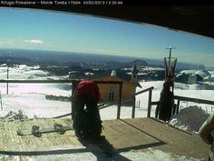 03 01 2013 Sole & Vento al rifugio Primaneve sul monte Tomba Lessinia Verona
