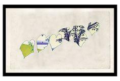 Richard Mishaan, MoMA Series VIII on OneKingsLane.com  paint over a picture - love it!!