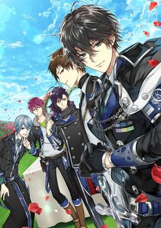 Hot Anime I have love for both the black and red armies ❤❤ Cool Anime Guys, Handsome Anime Guys, Anime Love, Anime Boy Art, Hot Anime Boy, Anime Chibi, Kawaii Anime, Fille Anime Cool, Anime Prince