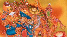 Ocher Art: Ardhanarishvara in Contemporary and Folk Art