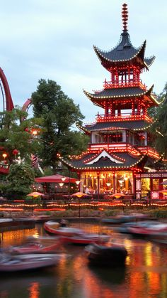 Thrillseekers should check out these amusement park from around the world - World's most popular theme parks you probably don't know about - Asian Architecture, Cultural Architecture, Aesthetic Japan, Travel Aesthetic, Japanese Aesthetic, Beautiful Nature Wallpaper, Beautiful Landscapes, Beautiful Places To Travel, Wonderful Places
