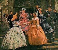John Wilkes radiating quiet charm and hospitality with Scarlett O'Hara (Vivien Leigh), India Wilkes (Alicia Rhett), Careen O'Hara (Ann Rutherford), Suellen O'Hara (Evelyn Keyes) in Gone With the Wind Vivien Leigh, Ana Karenina, Wind Movie, Ashley I, Scarlett O'hara, Tomorrow Is Another Day, Olivia De Havilland, Gone With The Wind, Vintage Hollywood