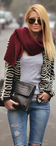 #luxury blazer #destroyer denim