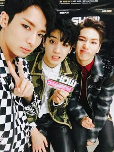 Yuto, Wooseok and Kino