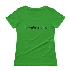 cav grandma | women's scoop neck tee