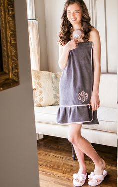 85544b09b5 Bella il Fiore towel wrap. Perfect for getting ready for a big night out on
