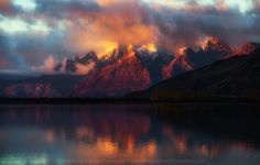 """Here is one from Argentina. I captured this beautiful sunrise last year while cruising to Viedma Glacier for some ice cave trekking. See more of my work:  <a href=""""http://www.eveningphotography.com"""">My Website</a> 