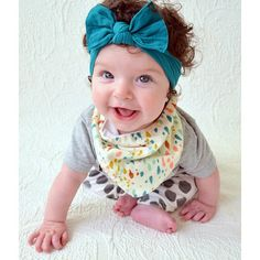 Bibdanas. Stylish bibs for your babe! Adorable + functional=a mother's dream!