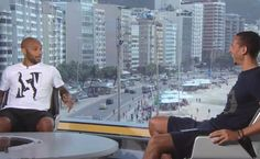 Rio Ferdinand Interviews Thierry Henry