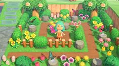 So my little sister just picked up Animal Crossing and has been playing it. Animals Crossing, Animal Crossing Guide, Animal Crossing Qr Codes Clothes, Brand Identity Design, Branding Design, Logo Design, Corporate Branding, Small Garden Ideas Diy, Parc Floral