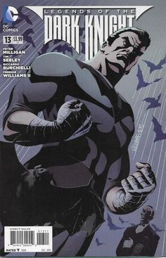 """""""Adaptation"""" _ Written By Tim Seeley, Peter Milligan, artist Riccardo Burchielli, Freddie E. Williams , Cover David G. Williams, Batman returns to his low-tech roots after years of counting on WayneTech gadgetry in 'Return of Batman.' Then, when The Dark Knight takes one of Gotham City's unluckiest criminals into protective custody, Thirteen forces him to reconsider in 'Unlucky 13.'"""