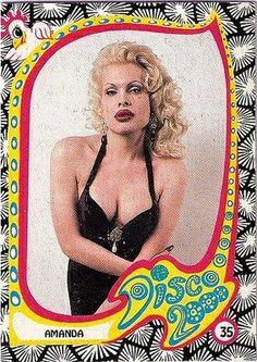 Amanda Lepore Trading card
