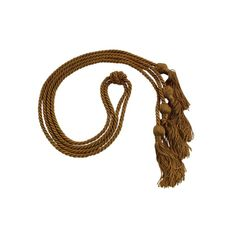 Double Graduation Cords - Cords and Stoles - Light Brown