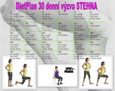 30 denní výzva stehna Fit Girl Motivation, Fitness Motivation, Body Fitness, Health Fitness, Plank Challenge, New Details, Pilates, Fitness Inspiration, Bodybuilding