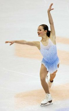 Sasha Cohen performing her 2002 short program