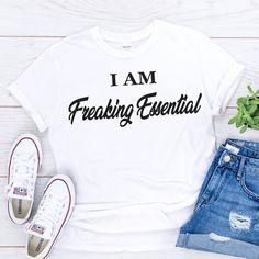 I am freaking essential 2020 shirt - Black, S, Unisex T Shirt