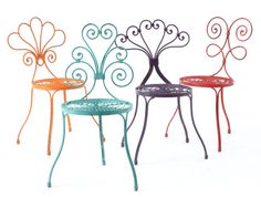I NEED these chairs for my patio. Why do you have to be soooo expensive Anthropologie?