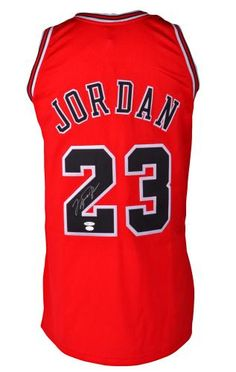 Michael Jordan Signed Authentic Jersey #SportsMemorabilia #ChicagoBulls