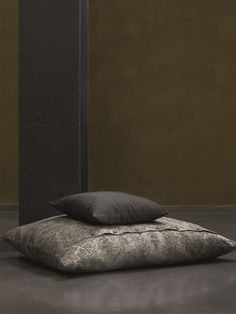 Anthracite linen and cotton pillow in our Fresko design. Cotton Pillow, Linen Bedding, Branding Design, Pillows, Bedroom, Furniture, Home Decor, Homes, Linen Sheets