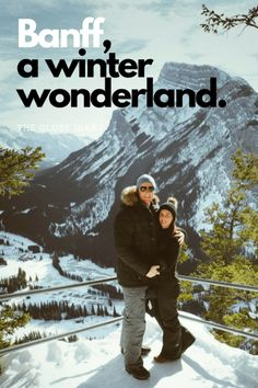 A Winter Wonderland in Banff & Lake Louise: Visiting the Fairmonts, Hiking up Tunnel Mountain, Exploring the Town and eating up a storm at Bear Street Tavern and Grapes Wine Bar. Explore Alberta, Canada with us!