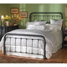 Braden Iron Bed by Wesley Allen from Humble Abode. http://www.humbleabode.com/braden-iron-bed-wesleyallen.html