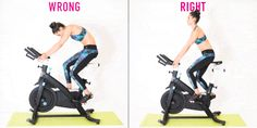 Indoor Cycling Mistakes - 20 Ways You're Spinning Wrong Spin Bike Workouts, Bicycle Workout, Cycling Workout, Body Workouts, Peloton Bike, Spin Bikes, Spinning Workout, Indoor Cycling, Yoga