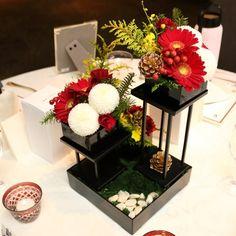 結婚式場写真「和のコーディネート ご新婦は赤の和装でご入場!」 【みんなのウェディング】