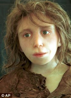 A Neanderthal child modelled