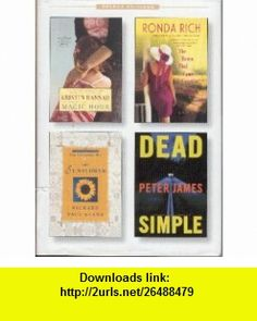 Select Editions (Magic Hour / The Town That Came a Courtin / The Sunflower / Dead Simple) Kristin Hannah, Ronda Rich, Richard Paul Evans, Peter James ,   ,  , ASIN: B000N211DK , tutorials , pdf , ebook , torrent , downloads , rapidshare , filesonic , hotfile , megaupload , fileserve