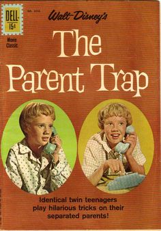 Image detail for -The Parent Trap, Four Color#1210