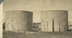 original tanks at the Imperial Oil site Ontario, Tanks, Cool Pictures, Oil, The Originals, Gallery, Roof Rack