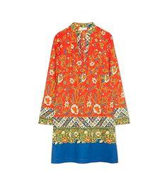TORY BURCH STEPHANIE TUNIC DRESS. #toryburch #cloth #