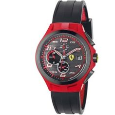 Scuderia Ferrari Lap Time Watch - Red & Black - product - Product Review