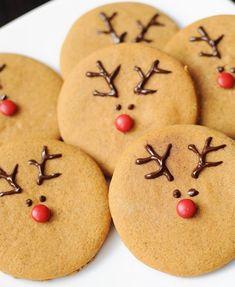 Best Holiday Cookies Ever: Reindeer Cookies from @j l Dubien