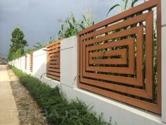 45+ Unique Modern Fence Design Ideas To Enhance Your Beautiful Yard #modernfence #fencedesign #backyard