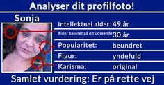 Analyser dit profilfoto!