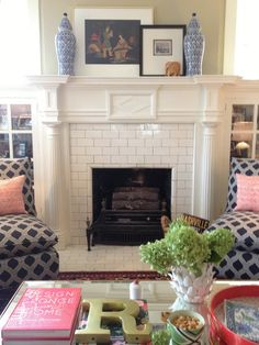 Like the subway tile and white woodwork