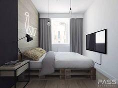PROJEKT WNĘTRZA W WARSZAWIE / 3: styl , w kategorii Sypialnia zaprojektowany przez PASS architekci