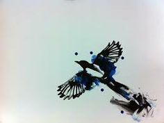 magpie tattoos - Google Search