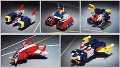 Toy Collecting Photo: Voltes V's Volt machines (Bandai/Soul of Chogokin) Japanese Toys, Vintage Japanese, Super Robot, My Childhood, Vintage Toys, Pop Culture, Action Figures, Animation, Cool Stuff