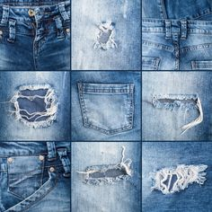 """You know how it goes — you buy a brand new pair of distressed jeans you're superexcited about, only to be asked if you """"actually paid for denim with"""